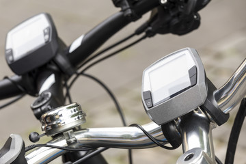 electric bicycle close up