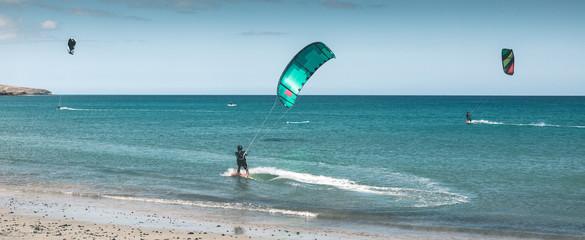 Kitesurf-Action - Fuerteventura