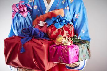 Zelfklevend Fotobehang Abstract bloemen Seollal