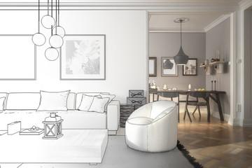 Ramgestaltung: Apartment (Entwurf)