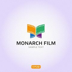 Monarch Film Logo Design