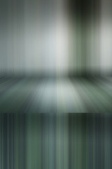 Blurred bending wall background gradient