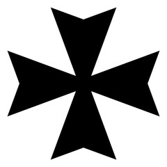 Maltese cross icon