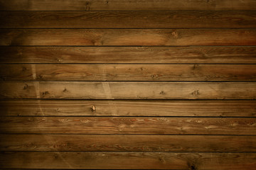 Old Wood Rustic Brown Shabby Background.