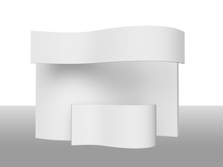 Simple Wavy Stand or Booth