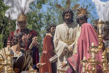 hermandad del Carmen doloroso, semana santa en Sevilla