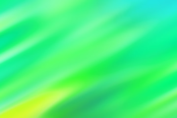 Blurred blue background with green and yellow diagonal stripes