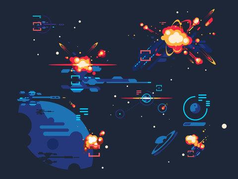 Battle star space