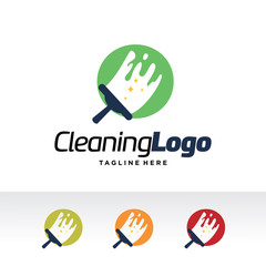 O Letter ,Cleaning Logo Template Design Vector, Emblem, Design Concept, Creative Symbol, Icon