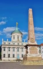 Potsdam, Alter Markt, Rathaus, Obelisk