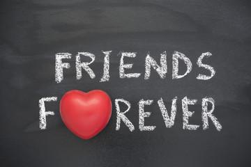 friends forever heart
