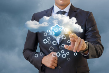 Configuring and securing the data cloud .