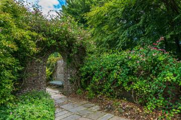 Seaton Park walled garden.
