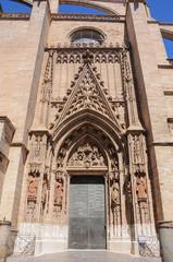Puerta del Nacimiento, Catedral de Sevilla, España