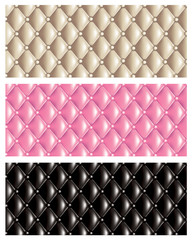 Quilt texture banners