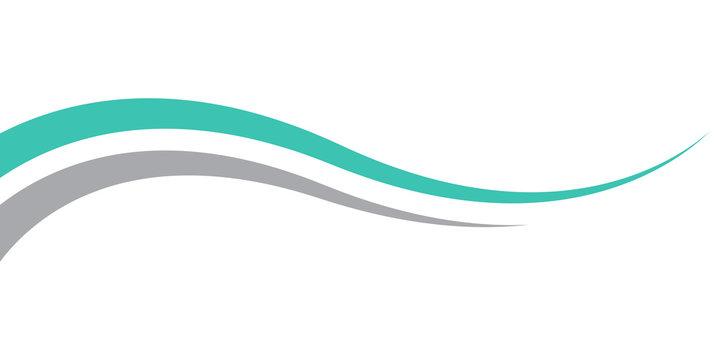 wave spalsh swoosh logo vector