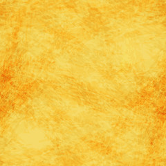 Seamless vector yellow background, imitating watercolor or plaster.