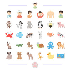 medicine, prevention, ecology and other web icon in cartoon style.domestic, dickies, fauna, icons in set collection.