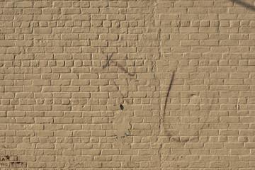 Yellow brick wall