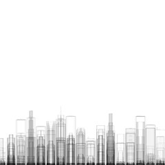 illustration of new york