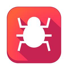 ikona z długim cieniem na tle zaokrąglonego kwadratu