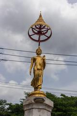 Wat Satri Rakhang : チャオプラヤー川・お寺