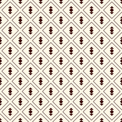 Minimalist abstract background. Simple modern print with arrows. Outline pattern with geometric figures.