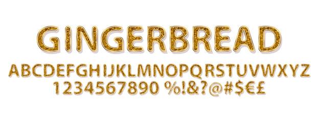 Gingerbread Alphabet sweet