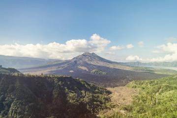 Kintamani volcano on Bali island
