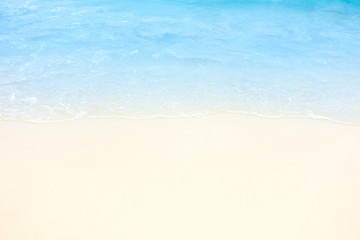 Beach and blue sea.