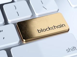 Blockchain service sign button