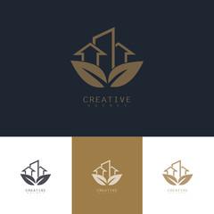 leaf building logo