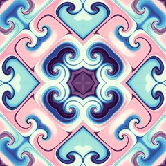 Abstract symmetric pattern