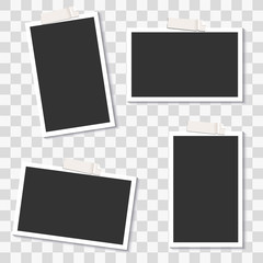 Vector Photo Frame Template Pack
