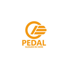 Car Pedal Logo Template Design