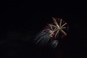Fireworks like Shooting Star
