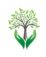 Tree In Your Hand Logo