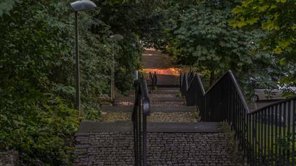 Treppen zum Sonnenlicht