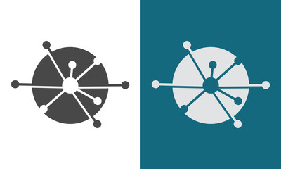 circle technology sience logo