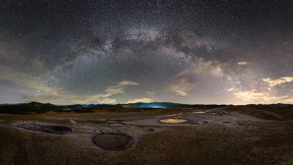 Milky Way landscape