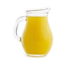 juice in heavy glass jug