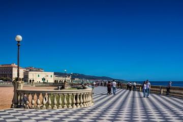 Livorno, Uferpromenade