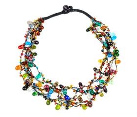 Beautiful gems necklace
