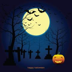 Halloween pumpkin Background.