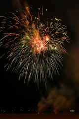 Independence day 4th of July fireworks at Coney Island Brooklyn NY 2017. Super hi-quality 36mpx, very ow noise