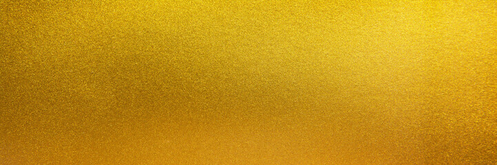 Metal texture background in gold.Panorama gold texture Wall mural