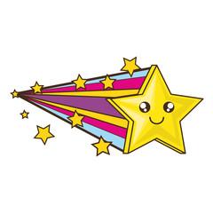 Cute star cartoon