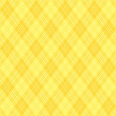 黄色 背景 アーガイル柄