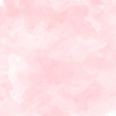 Pink watercolor subtle vector background