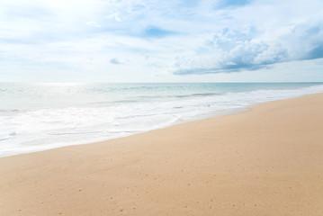 beautiful beach and tropical sea.Phuket,Thailand.
